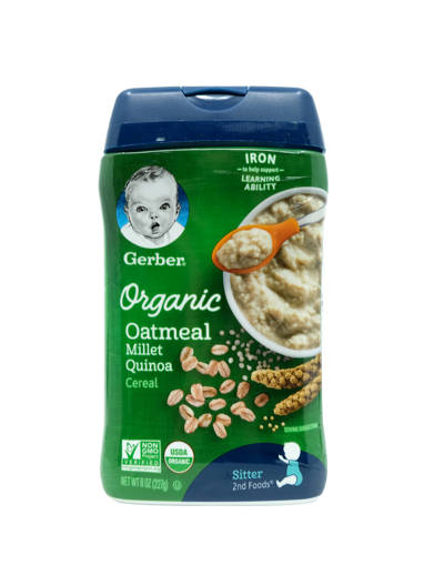 Picture of CEREAL GB ORG.OAT/QUINOA (227G/BOT) 2F