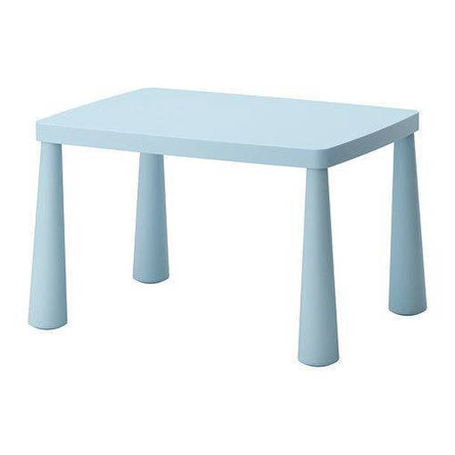 Picture of Children's Kindergarten Table (Light Blue)