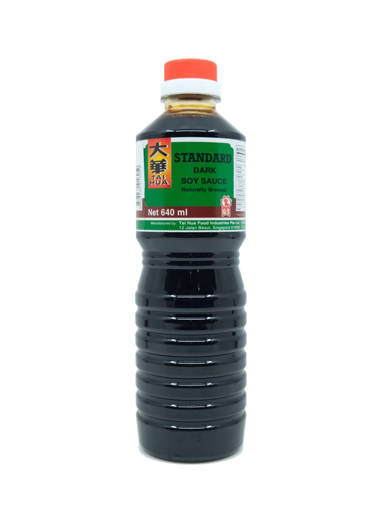 Picture of DARK SOYA SAUCE-TAIHUA(12X640ML)