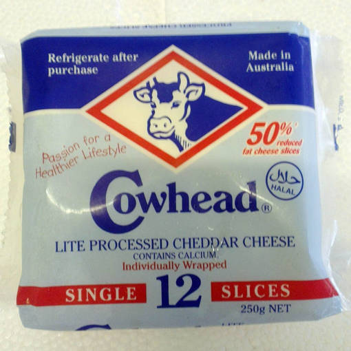 Picture of CHEDDAR CHEESE - LOW FAT (12'S)